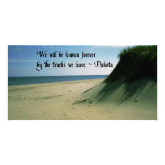 American Indian Proverb Photo Greeting Card