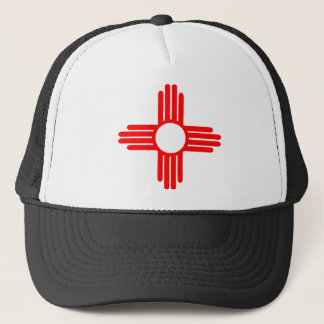 American Indian Sun Symbol Trucker Hat