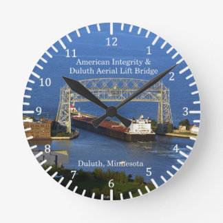 American Integrity Duluth clock