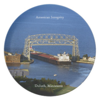American Integrity Duluth plate