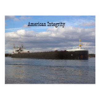 American Integrity post card