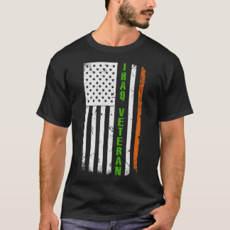 American Irish Iraq Veteran St. Patrick's Day T-Shirt