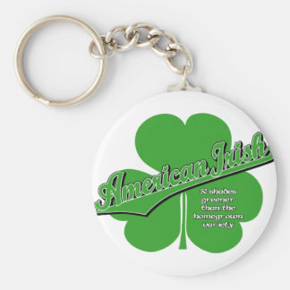 American Irish Key Chain
