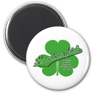 American Irish Refrigerator Magnets