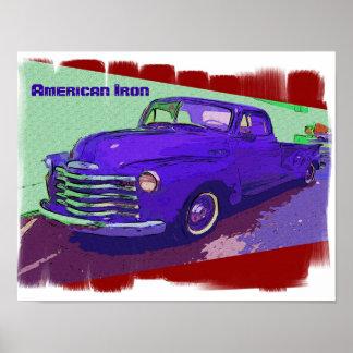 American iron poster