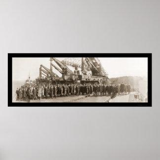 American Iron & Steel Photo 1915 Poster