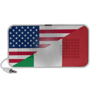 American Italian Flag Doodle Speaker OrigAudio