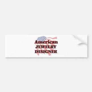 American Jewelry Designer Bumper Sticker