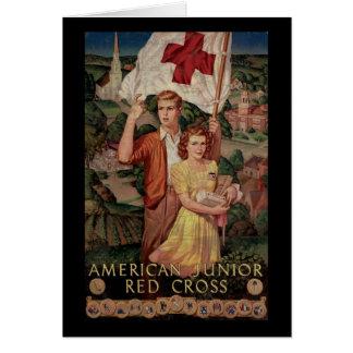 American Junior Red Cross Greeting Card