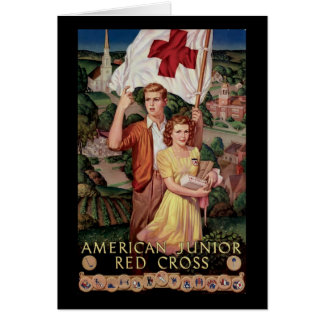 American Junior Red Cross Card