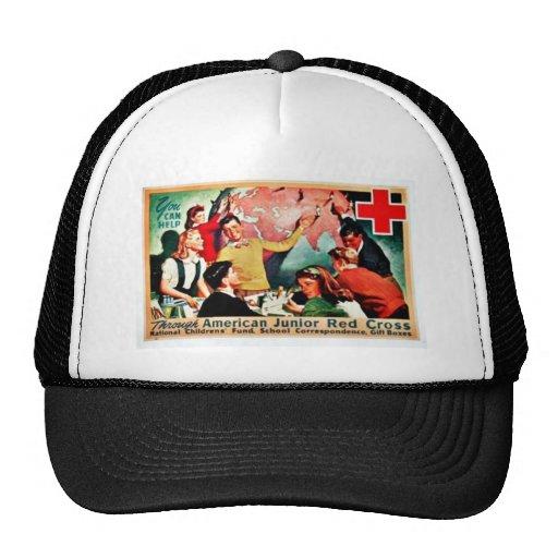 American Junior Red Cross Trucker Hat