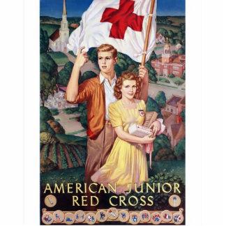 American junior red cross Photo Sculpture