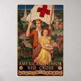 American Junior Red Cross Poster