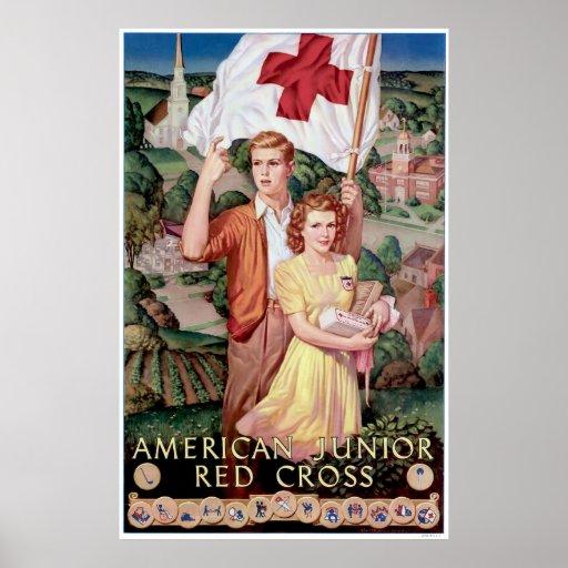 American Junior Red Cross Print