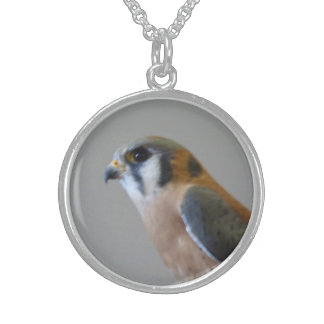 American Kestrel Sterling Necklace