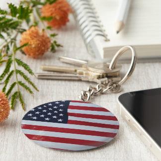 American key chain. USA Key Ring