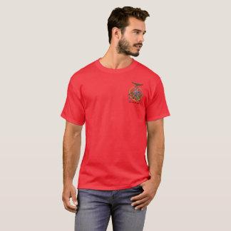 American KunTao Silat Guru Muda Shirt - Red