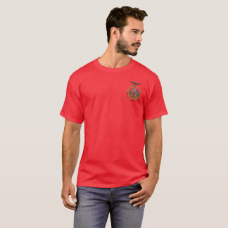 American KunTao Silat Guru Shirt - Red