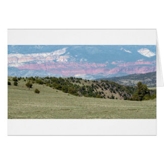 American Landscape Stones Canyons Mountain ranges Card