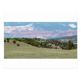 American Landscape Stones Canyons Mountain ranges Postcard