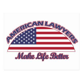 american Lawyers designs Postcard
