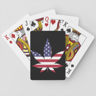 American Leaf Playing Cards