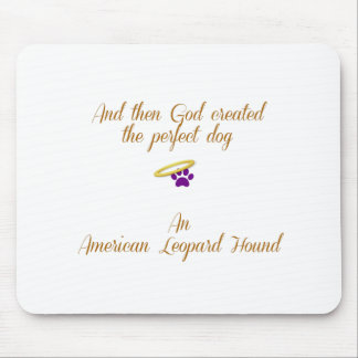 American Leopard Hound Mouse Pad