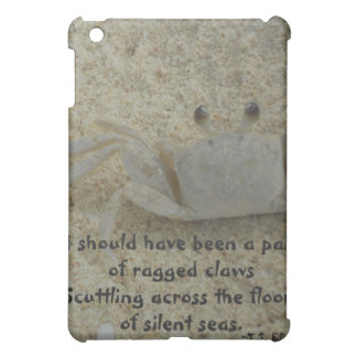 American Literature Crab Poetry iPad Mini Cases