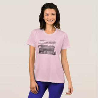 American Locomotive Company 0-4-0 T Womens T-Shirt