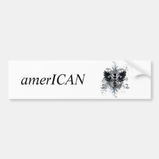 amerICAN logo Bumper Sticker
