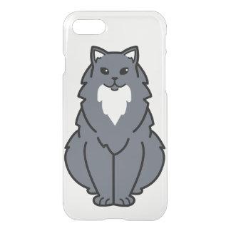 American Longhair Cat Cartoon iPhone 7 Case