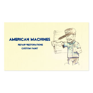American Machines Business Cards