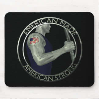 American Made American Strong Mouse Pad
