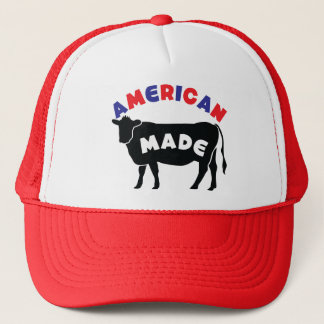 American made beef trucker hat