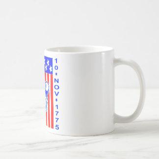 American Made Skull Flag 10 Nov 1775 Coffee Mug
