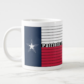American Made, Texas Proud! Jumbo Mug