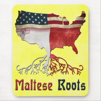 American Maltese Roots Mousemat