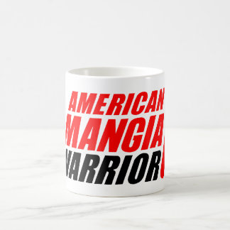 American Mangia Warrior Mug with Forked Up Logo
