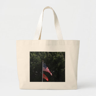 American & Marines Flag Bag