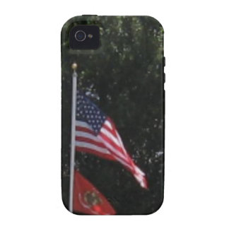 American Marines Flag Case-Mate iPhone 4 Case