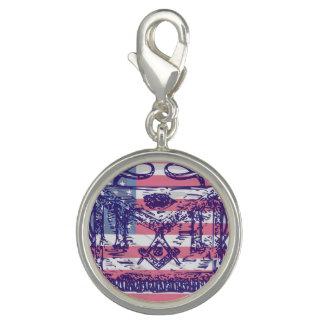 American Masonic Charm