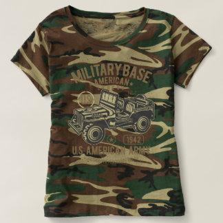 American Military Base womens and girls tshirt