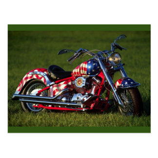 American Motorcycle Postcard