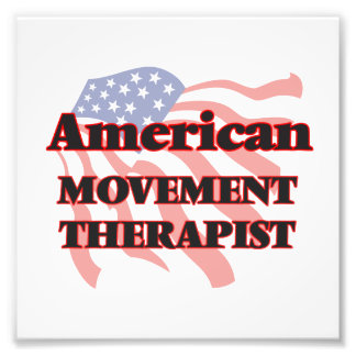 American Movement Therapist Photographic Print