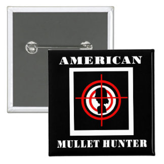 American Mullet Hunter Pin