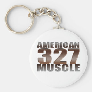american muscle 327 keychains
