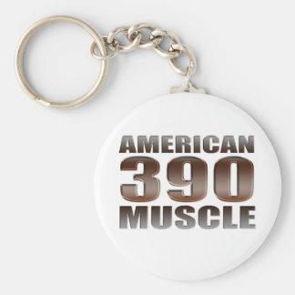 american muscle 390 key chain