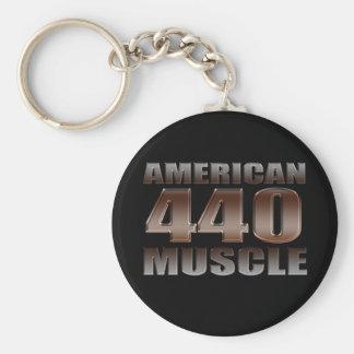 american muscle 440 mopar key ring