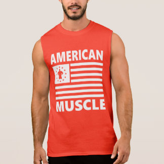 American Muscle Bodybuilder Gym and fitness Sleeveless Shirt