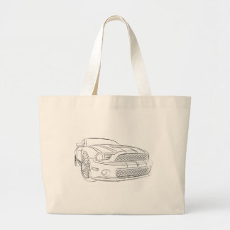 American muscle car canvas bags
